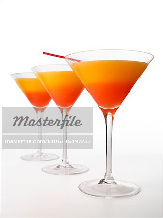 Tequila Sunrise Cocktail Stock Photo - Premium Royalty-Free, Image code: 6106-05497237
