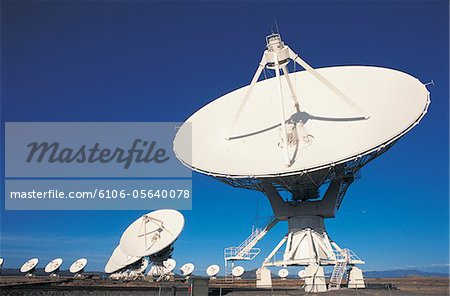 Radio Telescopes Stock Photo - Premium Royalty-Free, Image code: 6106-05640078