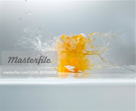 shooted Egg Stock Photo - Premium Royalty-Free, Image code: 6106-05758918