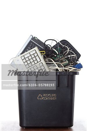 Electronic Waste Recycling Stock Photo - Premium Royalty-Free, Image code: 6106-05788193