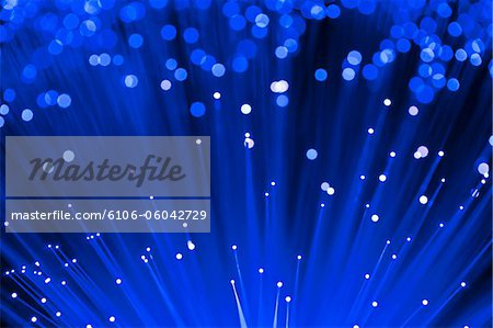 Fiber optics Stock Photo - Premium Royalty-Free, Image code: 6106-06042729
