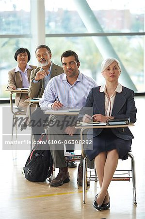 Adult Education Stock Photo - Premium Royalty-Free, Image code: 6106-06308292