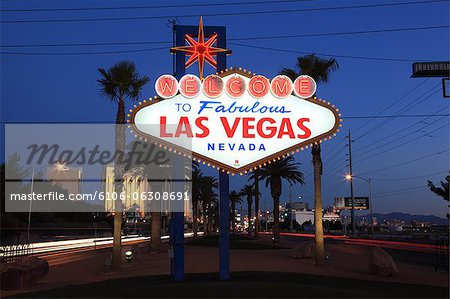Las Vegas, Nevada Stock Photo - Premium Royalty-Free, Image code: 6106-06308691