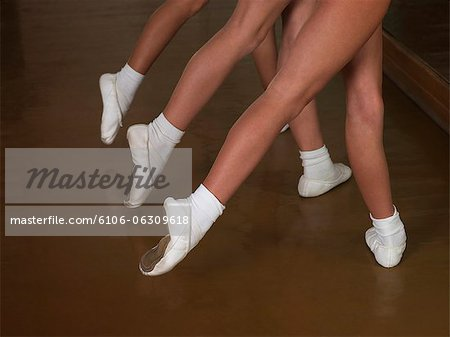 ballerinas Stock Photo - Premium Royalty-Free, Image code: 6106-06309618