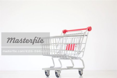 Shopping Trolly Stock Photo - Premium Royalty-Free, Image code: 6106-06402001