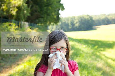 allergies and injuries Stock Photo - Premium Royalty-Free, Image code: 6106-06434752