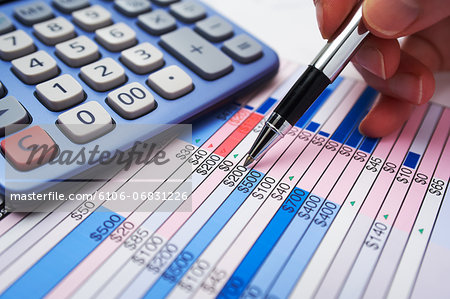 Finance check-up Stock Photo - Premium Royalty-Free, Image code: 6106-06831226