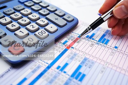 Sterling spreadsheet Stock Photo - Premium Royalty-Free, Image code: 6106-06831244