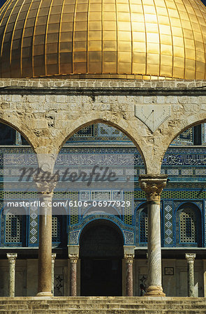 Isreal, Jerusalem, Dome of the Rock, Omar Mosque Stock Photo - Premium Royalty-Free, Image code: 6106-06977929