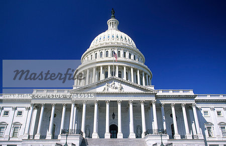 US Capitol Building, Washington DC, USA Stock Photo - Premium Royalty-Free, Image code: 6106-07069915