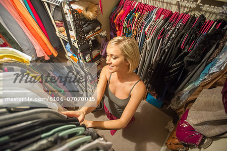 Wardrobe decision Stock Photo - Premium Royalty-Free, Image code: 6106-07070015
