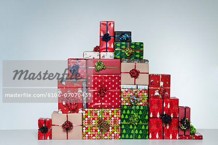 Chistmas Presents Stock Photo - Premium Royalty-Free, Image code: 6106-07070439