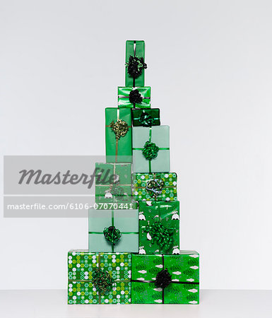 Chistmas Presents Stock Photo - Premium Royalty-Free, Image code: 6106-07070441