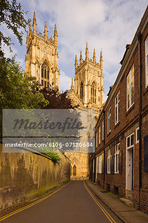 View of York Minster (Cathedral) Stock Photo - Premium Royalty-Free, Image code: 6106-07120684