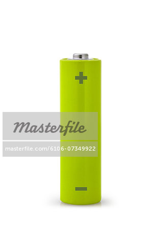 Green battery Stock Photo - Premium Royalty-Free, Image code: 6106-07349922