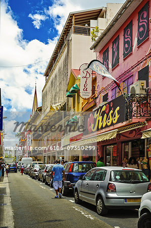 Fort de France, Martinique Stock Photo - Premium Royalty-Free, Image code: 6106-07350299