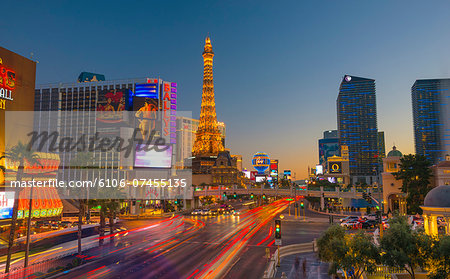 Las Vegas, The Strip, CityCenter, Aria Resort Stock Photo - Premium Royalty-Free, Image code: 6106-07455135
