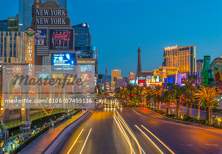 Las Vegas, The Strip, CityCenter, Aria Resort Stock Photo - Premium Royalty-Free, Image code: 6106-07455136