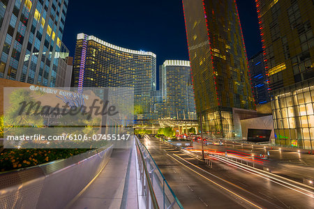 Las Vegas, The Strip, CityCenter, Aria Resort Stock Photo - Premium Royalty-Free, Image code: 6106-07455147