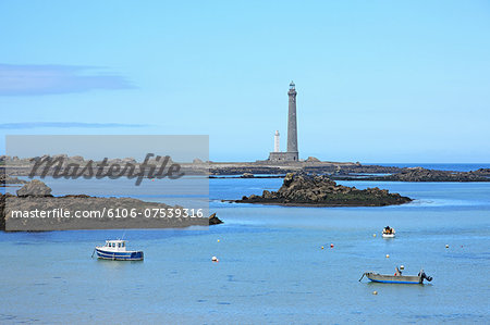 France, Brittany, Lighthouse Stock Photo - Premium Royalty-Free, Image code: 6106-07539316