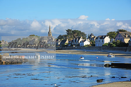 France, Brittany Finistere Stock Photo - Premium Royalty-Free, Image code: 6106-07539317