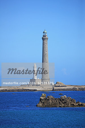 France, Brittany, Lighthouse Stock Photo - Premium Royalty-Free, Image code: 6106-07539320