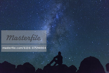 Hawaii, Mauna Kea Observatory Stock Photo - Premium Royalty-Free, Image code: 6106-07594004