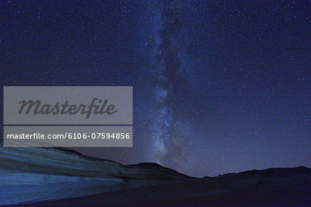 Starry Sky and Milky Way Stock Photo - Premium Royalty-Free, Image code: 6106-07594856