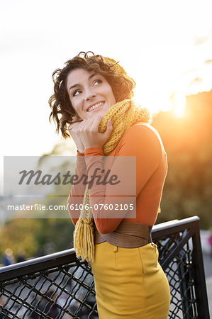 Woman Visiting Montmartre, Paris Stock Photo - Premium Royalty-Free, Image code: 6106-07602105