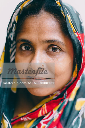Portrait of a middle aged  woman Stock Photo - Premium Royalty-Free, Image code: 6106-08080989