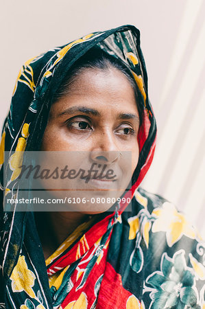 Portrait of a middle aged  woman Stock Photo - Premium Royalty-Free, Image code: 6106-08080990