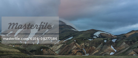 Landscapes- Landmannalaugar, Iceland Stock Photo - Premium Royalty-Free, Image code: 6106-08277184