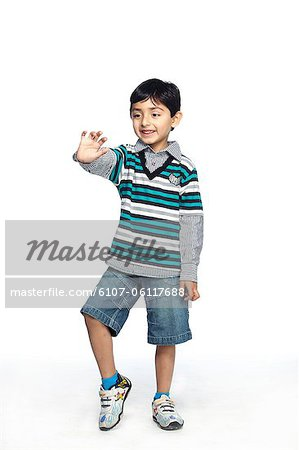 Portrait of little boy Stock Photo - Premium Royalty-Free, Image code: 6107-06117688