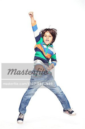 Portrait of little boy Stock Photo - Premium Royalty-Free, Image code: 6107-06117699