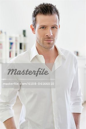 Portrait of a man Stock Photo - Premium Royalty-Free, Image code: 6108-06166010