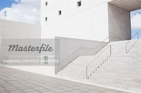 Modern building and stairs