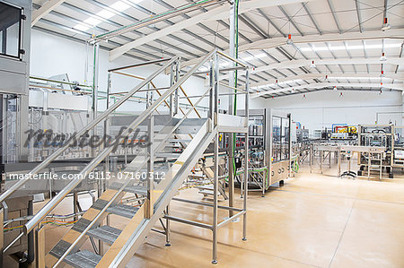 Machinery in factory Stock Photo - Premium Royalty-Free, Image code: 6113-07160312