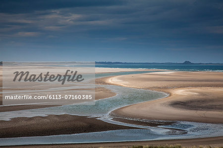Beach at low tide Stock Photo - Premium Royalty-Free, Image code: 6113-07160385