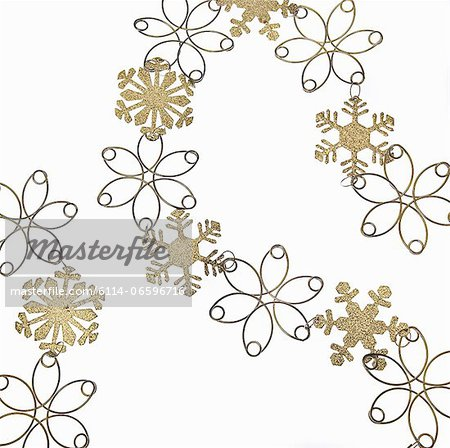 Snowflake decoration Stock Photo - Premium Royalty-Free, Image code: 6114-06596716