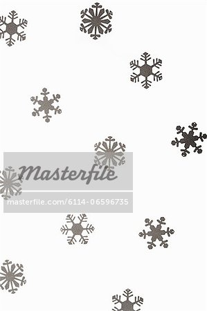 Snowflake decorations Stock Photo - Premium Royalty-Free, Image code: 6114-06596735