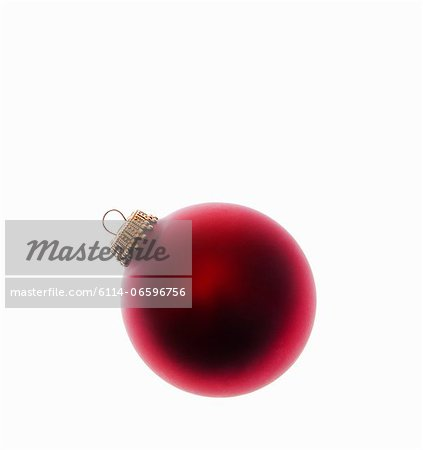 Red bauble Stock Photo - Premium Royalty-Free, Image code: 6114-06596756