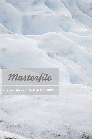 Ice of a glacier Stock Photo - Premium Royalty-Free, Image code: 6114-06598960