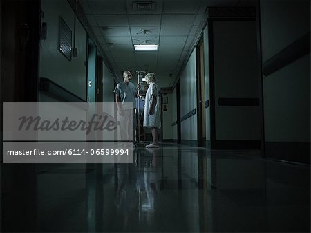 Female patient with intravenous drip Stock Photo - Premium Royalty-Free, Image code: 6114-06599994