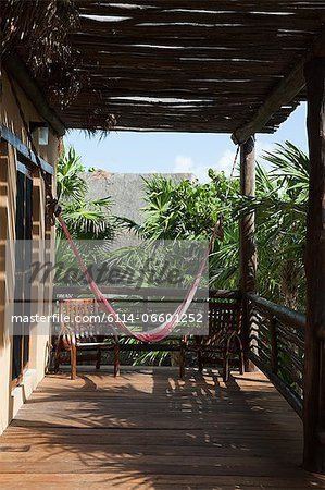 Beach hut in Quintana Roo, Caribbean Stock Photo - Premium Royalty-Free, Image code: 6114-06601252