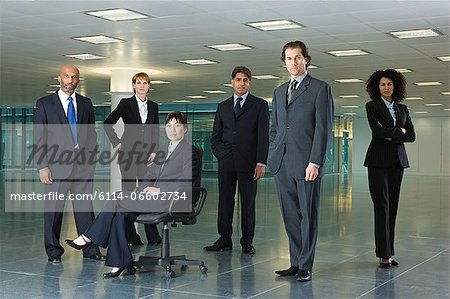 Businesspeople Stock Photo - Premium Royalty-Free, Image code: 6114-06602734
