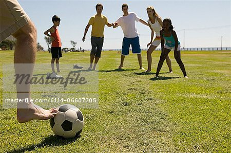 Game of football Stock Photo - Premium Royalty-Free, Image code: 6114-06607205