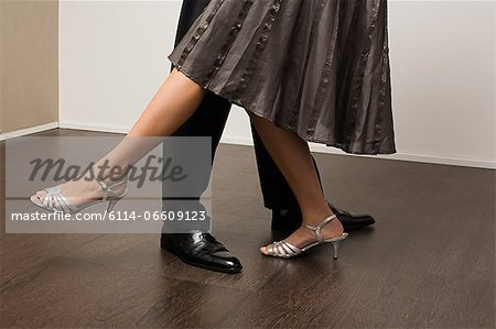 Couple dancing Stock Photo - Premium Royalty-Free, Image code: 6114-06609123