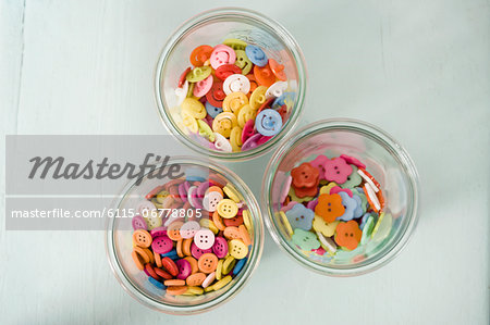 Colored Buttons, Munich, Bavaria, Germany, Europe Stock Photo - Premium Royalty-Free, Image code: 6115-06778805