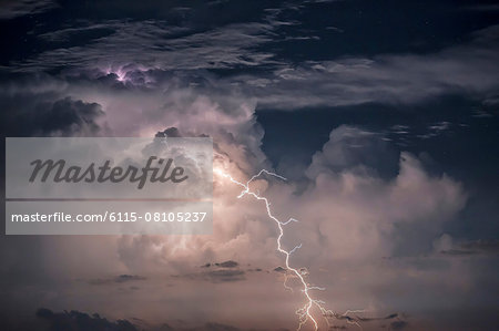 Thunderstorm scenery, Dalmatia, Croatia, Europe Stock Photo - Premium Royalty-Free, Image code: 6115-08105237