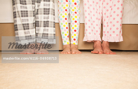 Happy Family Feet Stock Photo - Premium Royalty-Free, Image code: 6116-06938713